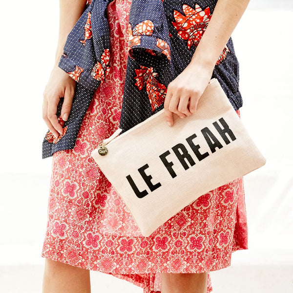 Clare V. Blush Le Freak Clutch