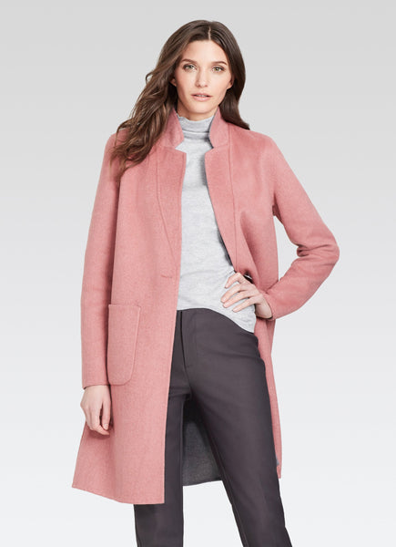 Ecru Reversible Coat