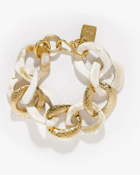 Ashley Pittman Salama Bracelet in Light Horn
