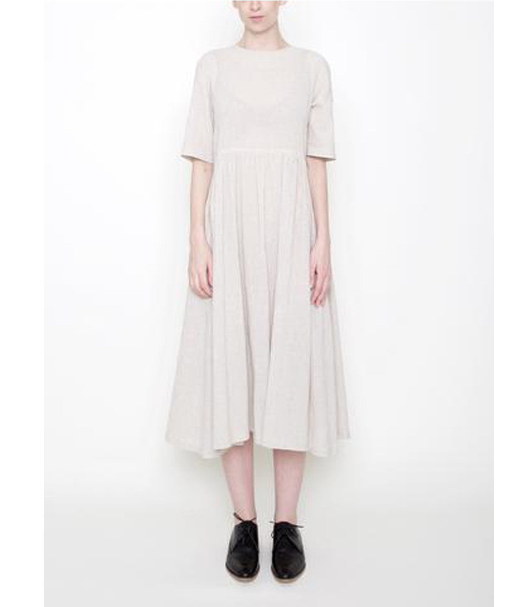 Linen Play Dress A lightweight and versatile dress for easy weekends or casual workdays.