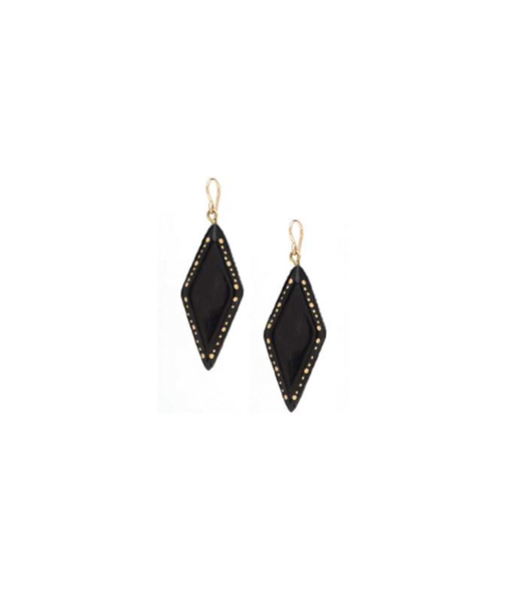 Ashley Pittman Kaimu Earring in Dark Horn