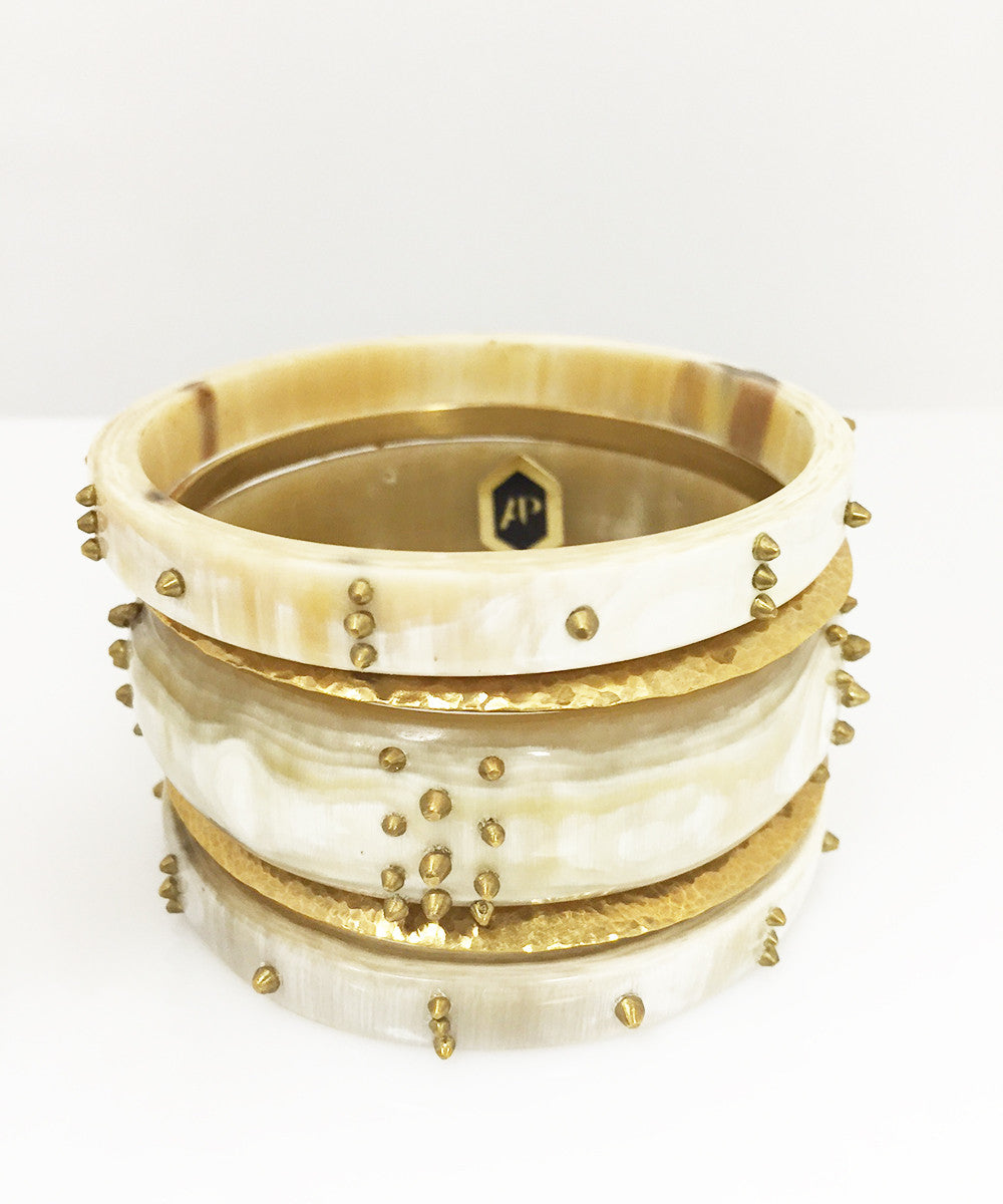 Ashley Pittman Hodari Bangle Set