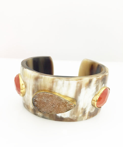 Ashley Pittman Tunda Cuff Mixed Horn