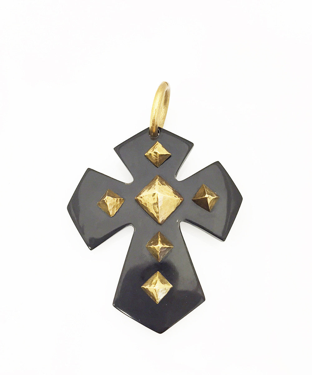 Ashley Pittman Pembeni Pendant Dark Horn