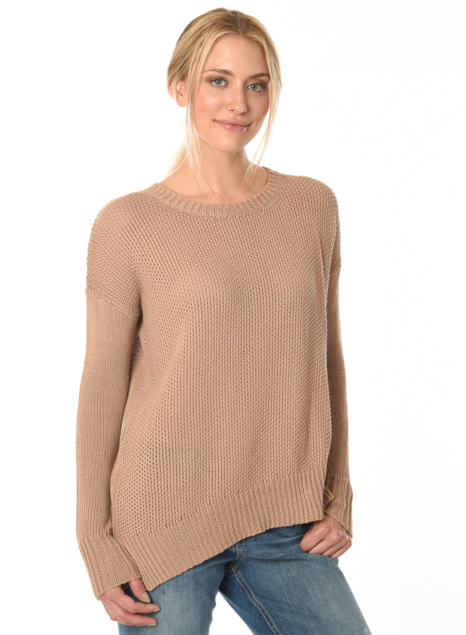 Acrobat Sweater in Latte