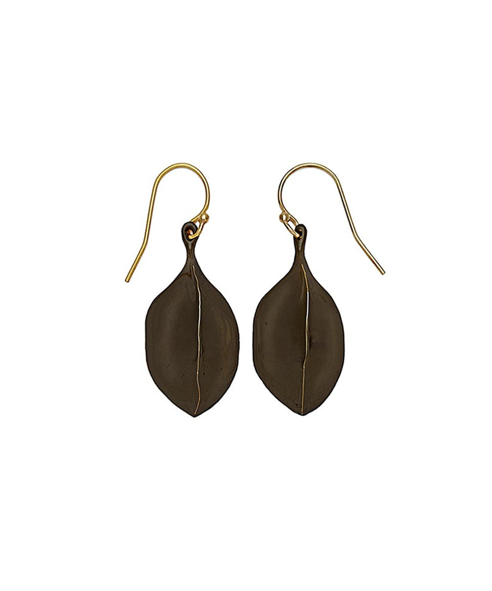 Julie Cohn Black Amulet Earring