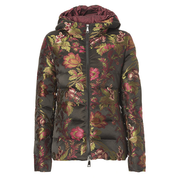 Seventy Floral puffer jacket found at Patricia in Southern Pines, NC