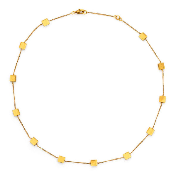 Chloe Delicate Station Necklace