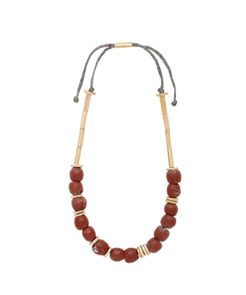 Julie Cohn Clay Mari Necklace