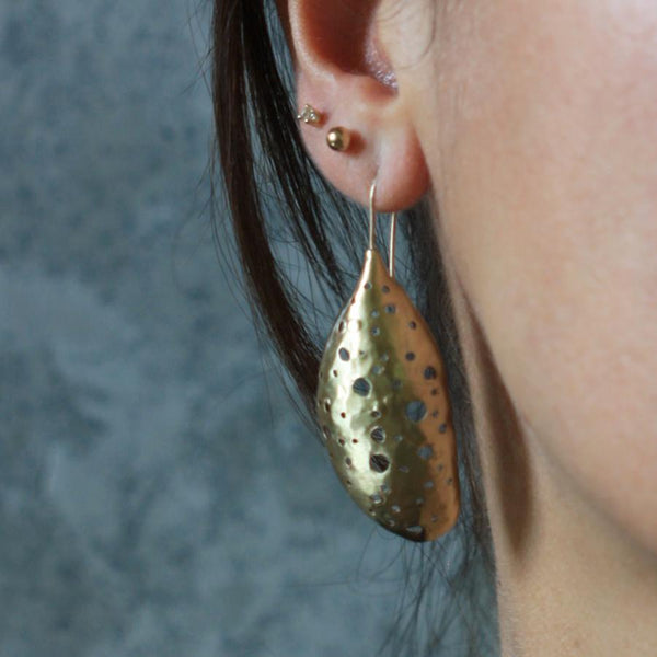 Julie Cohn Bronze Cocoon Earrings