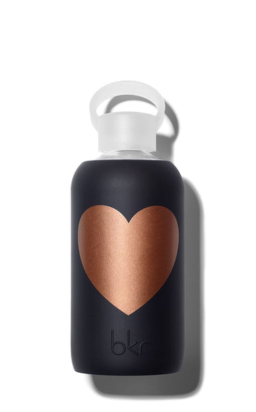 bkr Black with Copper Heart 500 ML