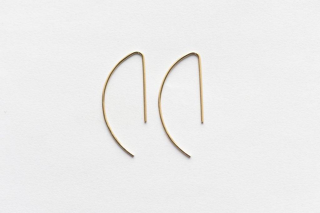 8.6.4 Design Large 14K Gold Earring - 04
