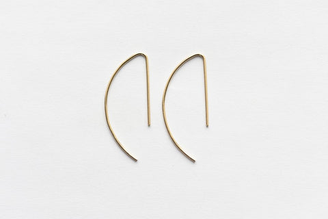 8.6.4 Design Medium 14K Gold Earring - 02