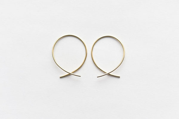 8.6.4 Design Medium 14K Gold Earring - 04