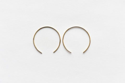 8.6.4 Design Medium 14K Gold Earring - 05