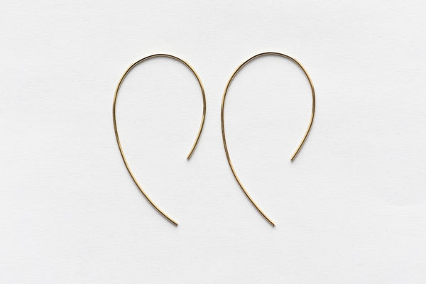 8.6.4 Design Medium 14K Gold Earring - 03