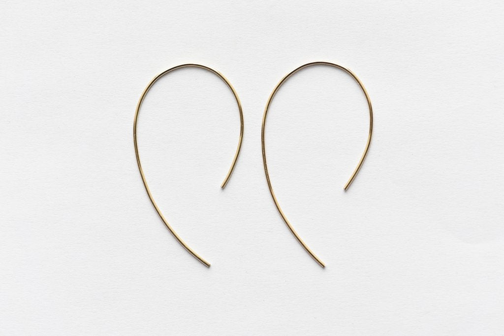 8.6.4 Design Large 14K Gold Earring - 05