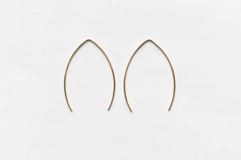 8.6.4 Design Large 14K Gold Earring -03