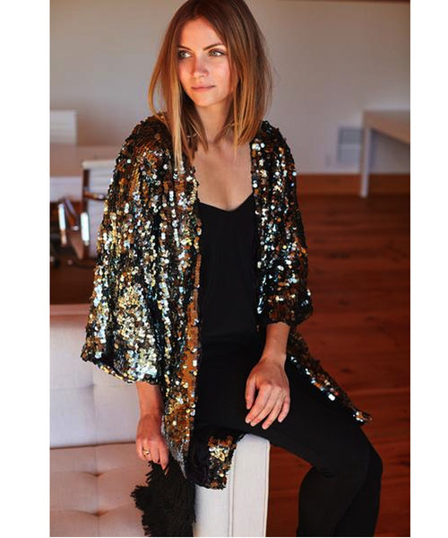 Emerson Fry Sequin Jacket