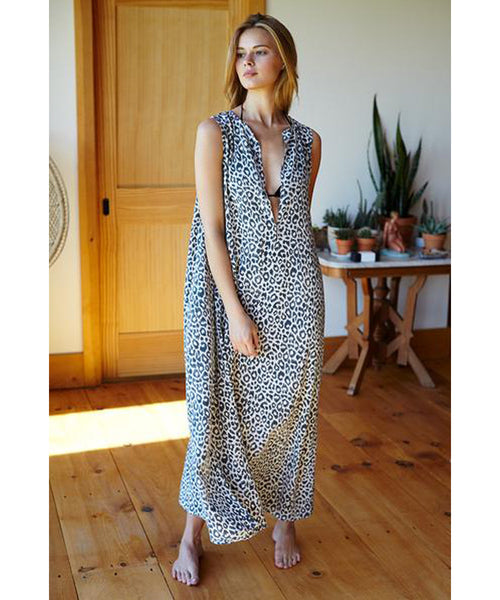 Shop Emerson Fry Leopard Caftan at PATRICIA