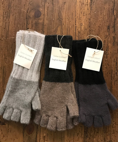 English Weather Cashmere Mittens