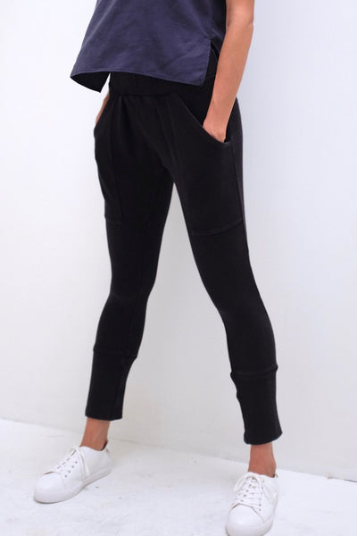 Natalie Busby Modern Jogger Pant in Black found at Patricia in Southern Pines, NC. 28387