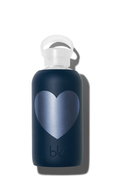 bkr Midnight with Metallic Navy Heart 500 ML