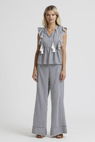 Marie Oliver Striped Carter Pant