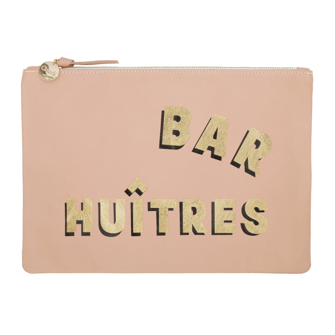 Clare V. Bar Huitres Clutch