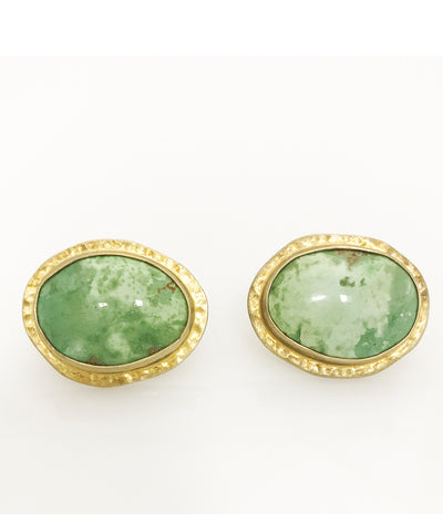 Heather Benjamin Turquoise Cufflinks
