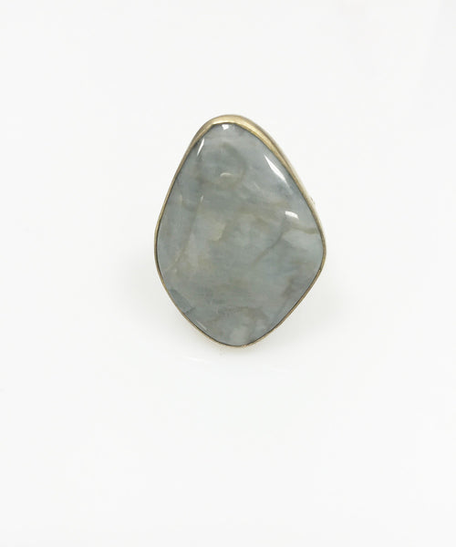 Heather Benjamin | Handmade Grey Tigers Eye Ring