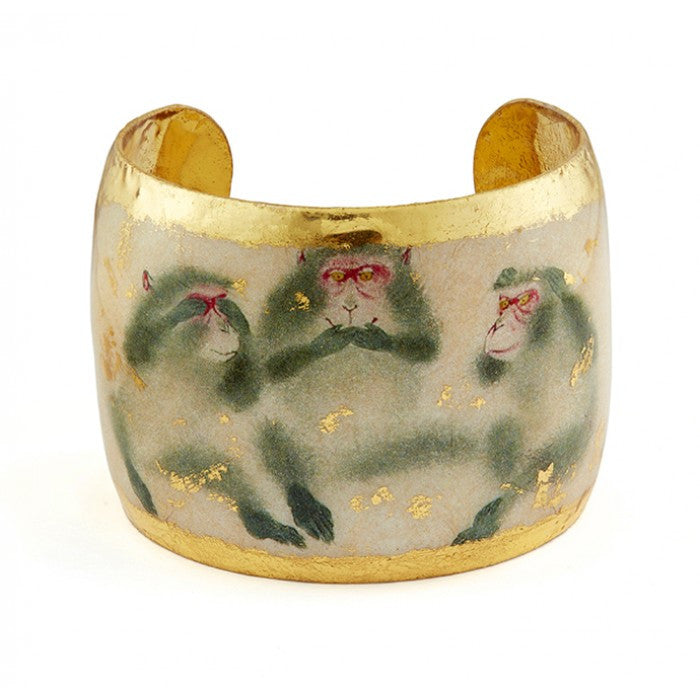 Three Wise Monkeys Cuff