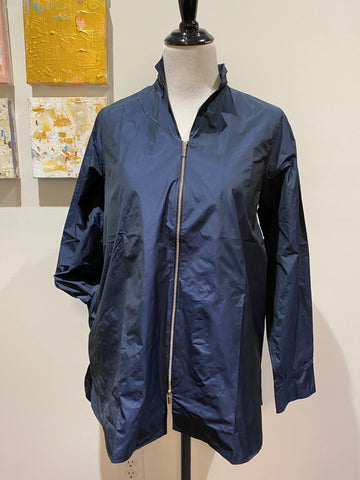 Peter O. Mahler Blouse with Zipper