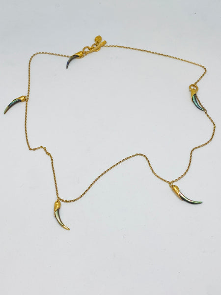 "Heather Benjamin Multi Chard 16"" Necklace found at PATRICIA in Southern Pines, NC"