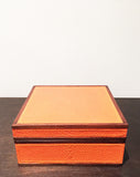 Tangerine Imogene Box Small