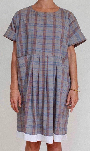 Shosh Plaid Caftan