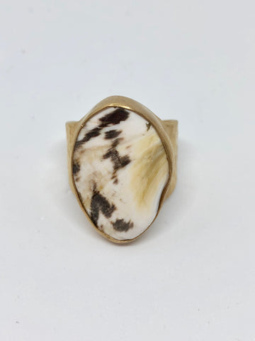 Heather Benjamin shell Ring