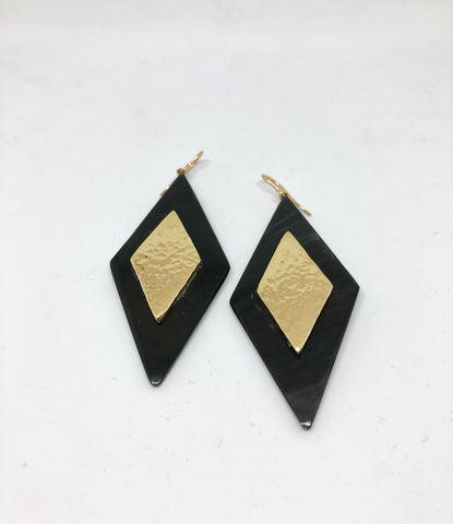 Ashley Pittman Rikebu Earring Dark Horn