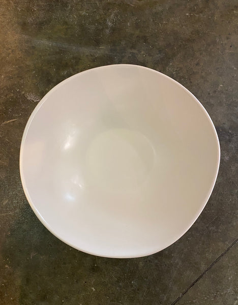 "HAAND 11.5"" Medium Serving Bowl in White"