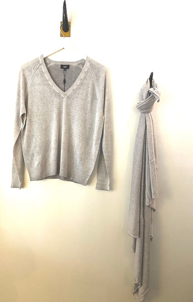 LINE Dita Knit Sweater in Overcast