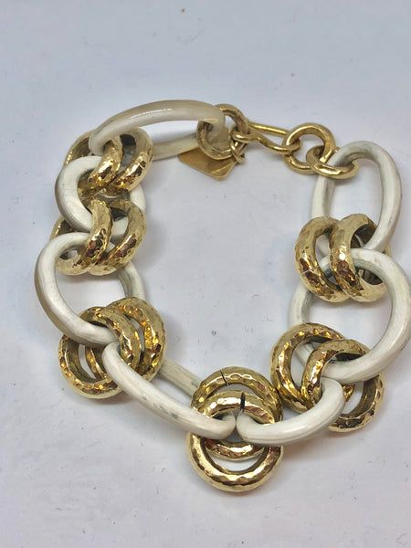 Ashley Pittman Viringana Bracelet in light horn found at Patricia in Southern Pines, NC