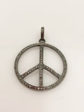 Suzy T. Designs Peace Sign Pendant