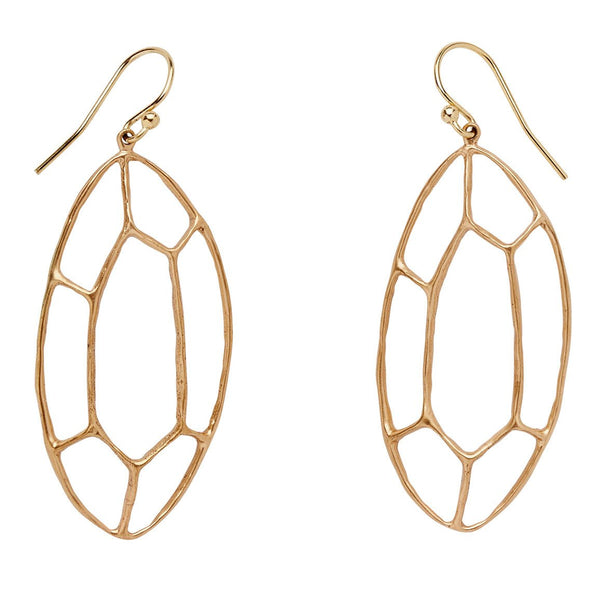 Julie Cohn Facet Wire Earrings