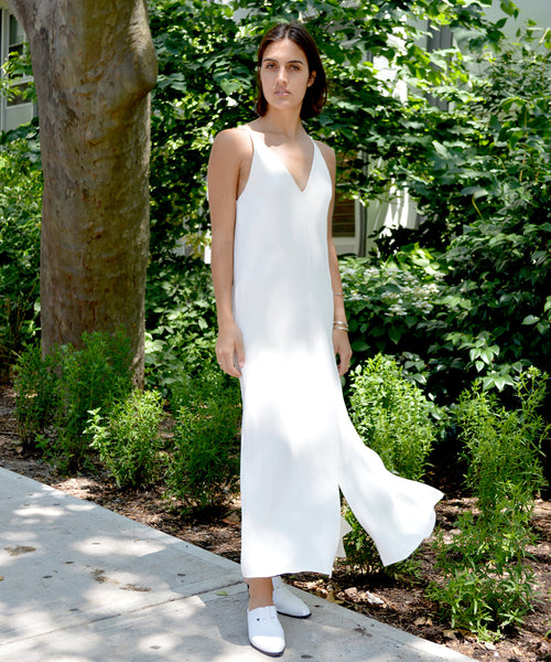 Kallmeyer Tailored Slitted Slip Dress