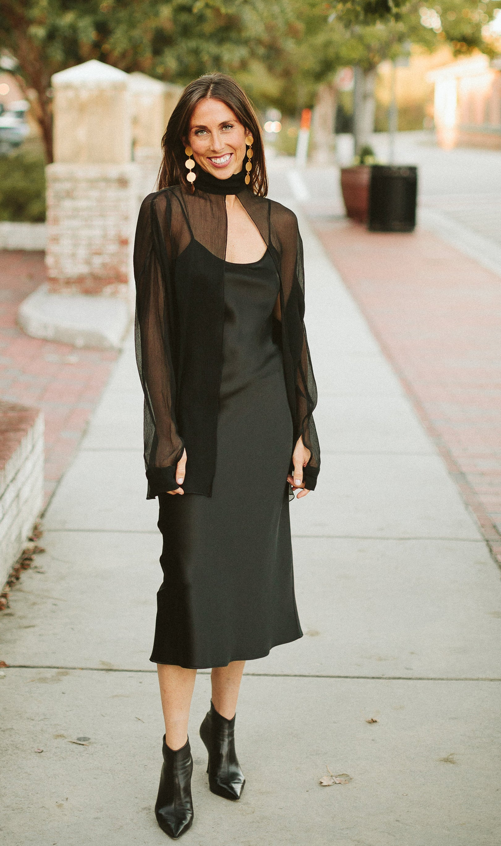 Laura Siegel Layering Turtleneck in Black