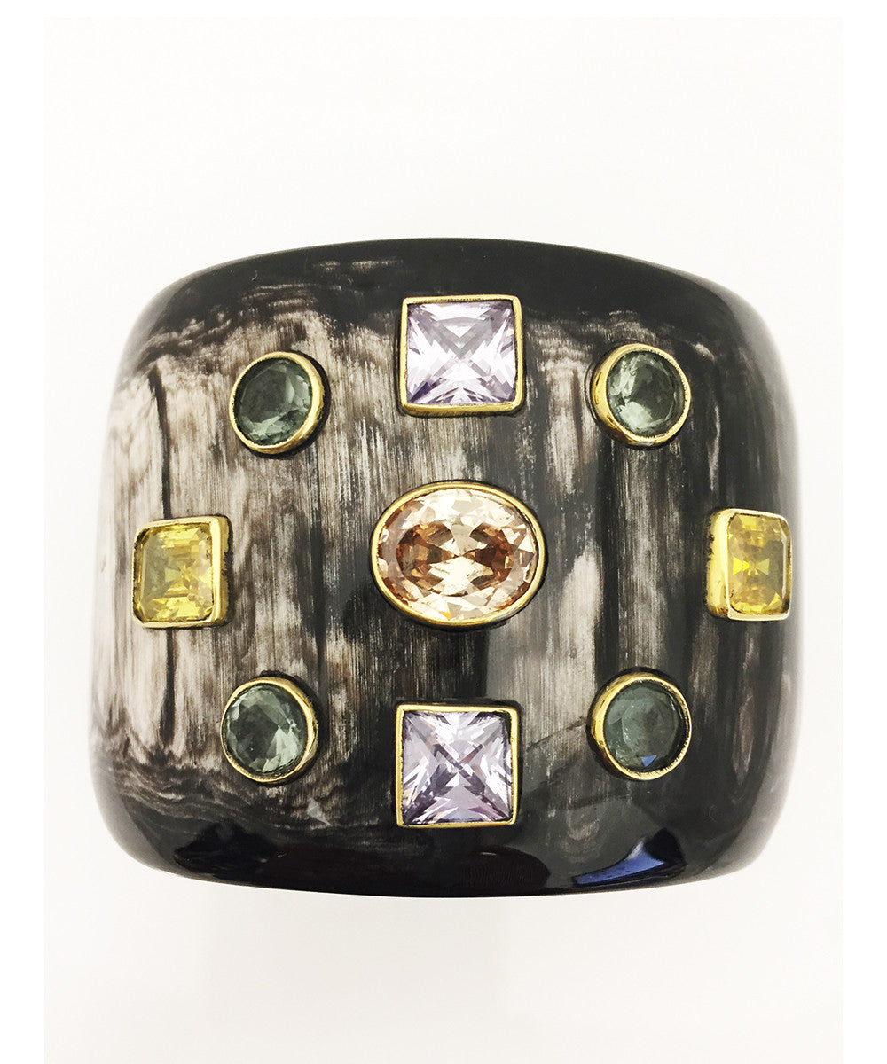 Ashley Pittman Mwali Cuff Dark Horn
