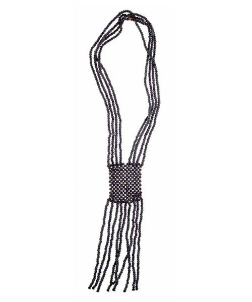 CATHs Horn Bead Fringe Necklace