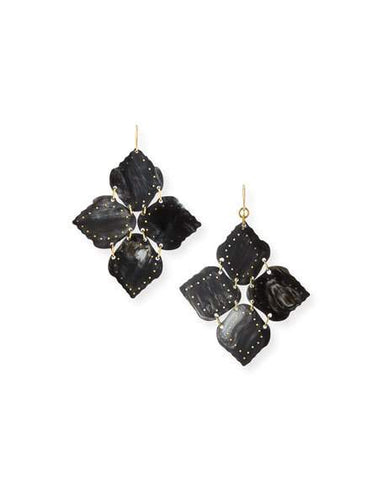 Ashley Pittman Angalia Earring Dark Horn