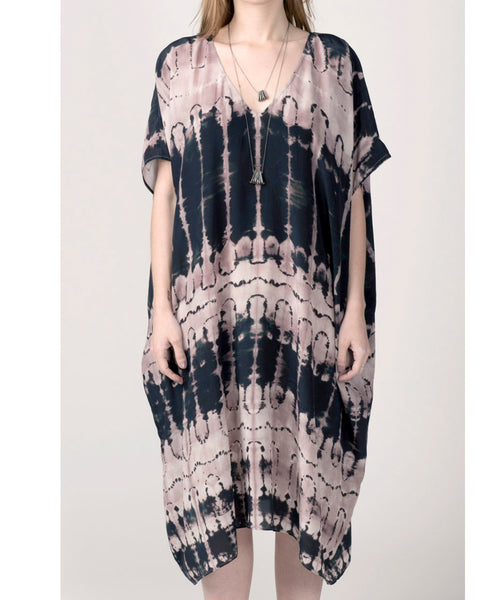 Organic Intarsia Kimono from Laura Siegel Collection.