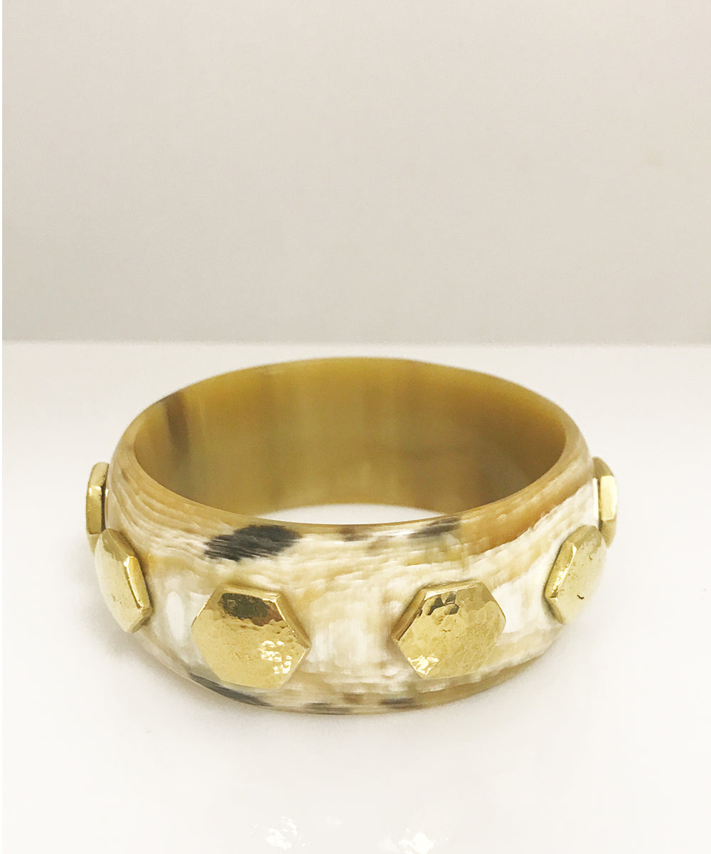 Ashley Pittman Rasmi Bangle Light Horn